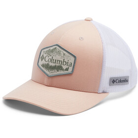 Columbia Mesh Snap Back Gorra, peach cloud/outsider patch
